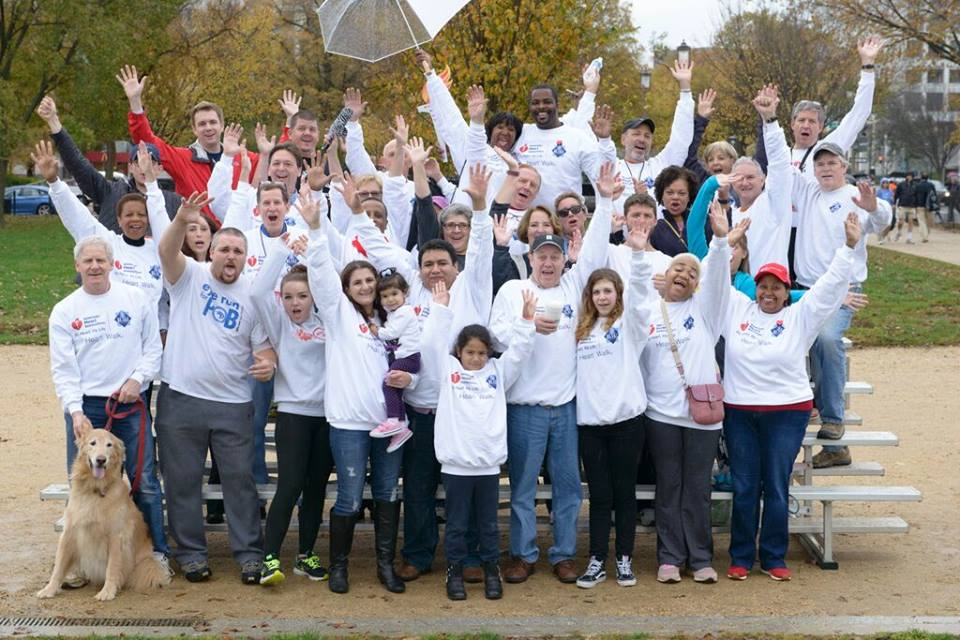 DC Heart Walk 2015 Team Photo